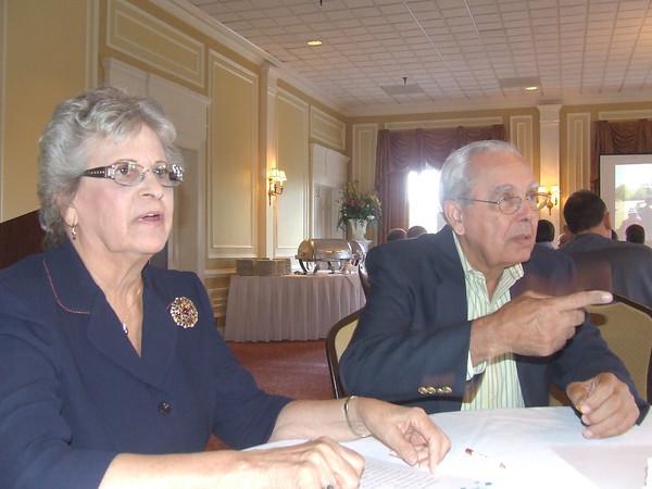 Joyce Epps Martin and George Martin 50th anniversary